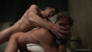 Trenton Ducati and  Wesley Woods at Bound Gods