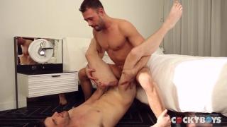 Brandon Jones and Dustin Holloway at cocky boys
