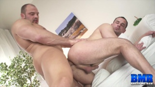 Zack Hood and Andy West at breed me raw