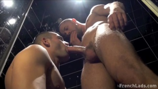 tony axel and mike tiger at french lads