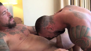Rocco Steele and Sean Duran at bareback that hole