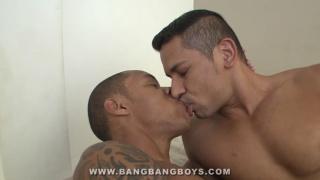 Marcello Mastro and Lucas M at bang bang boys