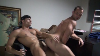 Owen hawk and Rafael cerrera at Raw Fuck Club