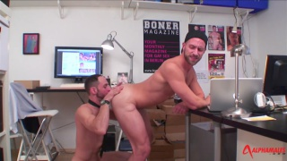 Misha Dante and Joe Bexter at alpha males