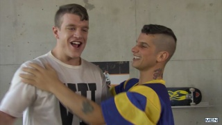 Pierre Fitch and caleb King at drill my hole