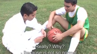 soccer buddies Pablo and Edwin at otb boyz