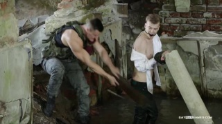 Recruit's Troubles Episode 02 at gay war games