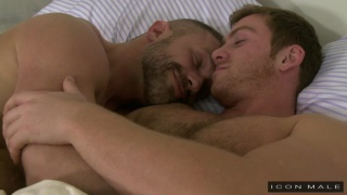 Connor Maguire and Dirk Caber at Icon Male