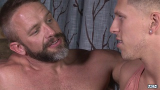 Roman Todd and Dirk Caber at Str8 to Gay