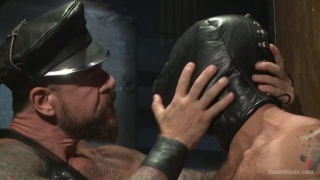 rocco steele and adam ramzi at Bound Gods