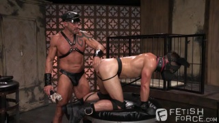 Mike DeMarco & Dallas Steele at fisting central