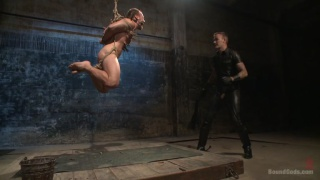 Christian Wilde and Chris Burke at Bound Gods