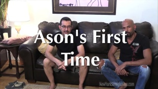 Jason's First Time at New York Straight Men