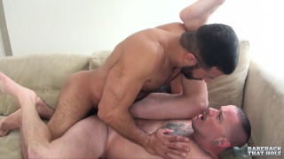Vinnie Stefano and Max Cameron at bareback that hole