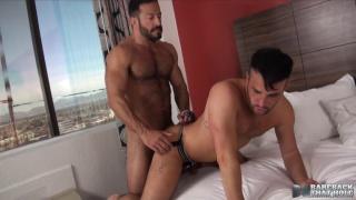 Vinnie Stefano and Alex Mason at bareback that hole