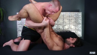 Diego Sans and Tommy Regan at Str8 to Gay