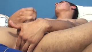 Marcos works up a boner at otb boyz