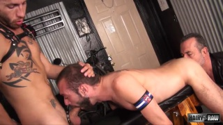 Ethan Palmer, Victor Cody and Justin Case Part 1 at hairy and raw