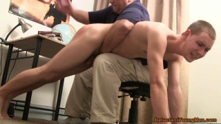 Nicholas Hand Spanked at reluctant young men