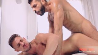Hugo Arenas and Sergyo bareback at Fuckermate