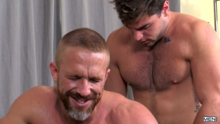 Aspen and Dirk Caber at Str8 to Gay