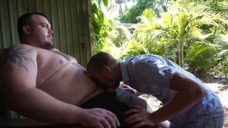 Horny Stepdad Part 2 - Step Brothers at monster cub