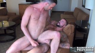 Sean Duran and Alex Mason at bareback that hole
