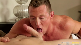 preston burgess and Pierce Hartman at Next Door Twink