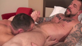 Rocco Steele and Donnie Dean at bareback that hole