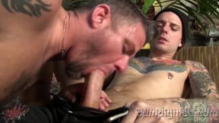 Christian Matthews Blows Christop at cum pig men