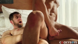 Colby Keller and Carter Dane at cocky boys