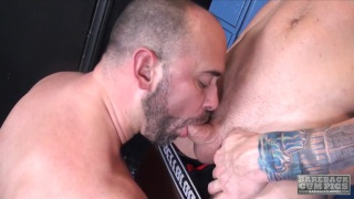 Tyler Reed and Beau Reed at bareback cum pigs