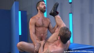 Adam Ramzi & Wesley Woods at Raging Stallion