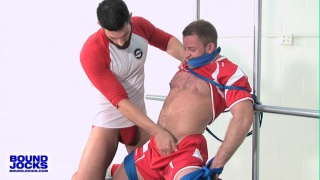 Shay Michaels and Bob Hager at Bound Jocks