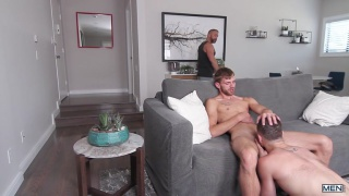 Dalton Briggs and Vincet Diaz at drill my hole