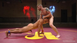 Mike Maverick and Sebastian Keys at Naked Kombat