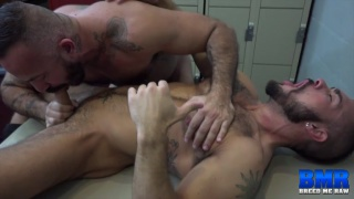 Alessio Romero and Aarin Asker at breed me raw