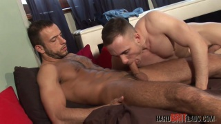 Stany Falcone and Jack Jefferson at hard brit lads