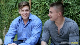 Conan McGuire and Jake Davis at Next Door Buddies