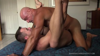 scott Pierce and Colby cross at Bareback Me Daddy