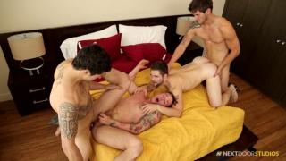 Jimmy Clay, Lance Ford, Griffin Barrows, Allen Lucas at Next Door Buddies