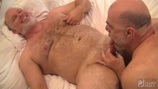 Wade Cashen and Adam Morgan at Hot Older Male