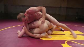 Jonah Marx and Tyler Rush at Naked Kombat