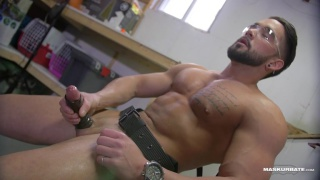 handyman zack at Maskurbate