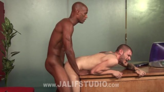 Tristan Mathews & Billy Long at Jalif Studio