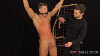 MARTIN HOVOR's SPANKING at Str8 Hell
