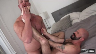 Bryan Knight and Mickey Carpathio at Hairy and Raw