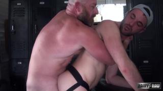 Alex Mason and Dalton Hawg at Hairy and Raw