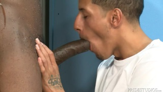 Juan Carlos & Corey Woods at Extra Big Dicks
