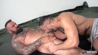 Amir Badri and Marc Angelo at Bareback That Hole
